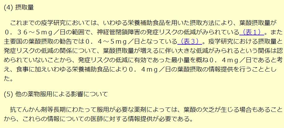 妊活サプリ副作用厚生労働省